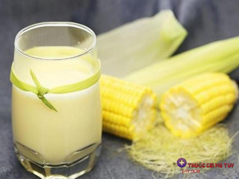 Cách làm sữa ngô thơm ngon sánh mịn tại nhà